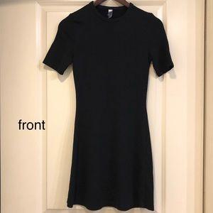 AmericanApparel Thick Tshirt Minidress w/ Crewneck